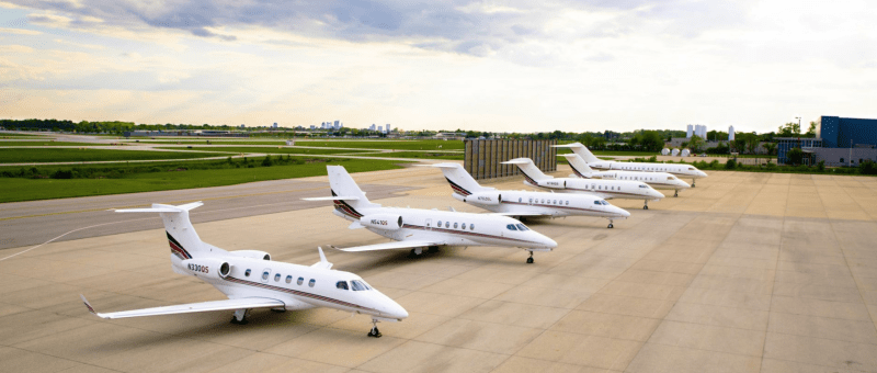 NetJets fleet June 2020