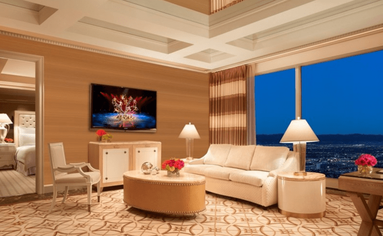 Wynn Parlor Suite interior