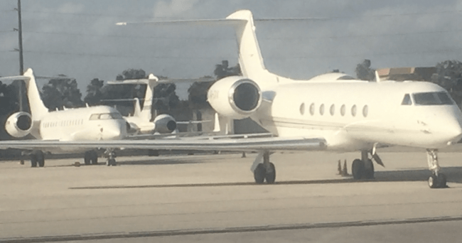 celebrity private jets