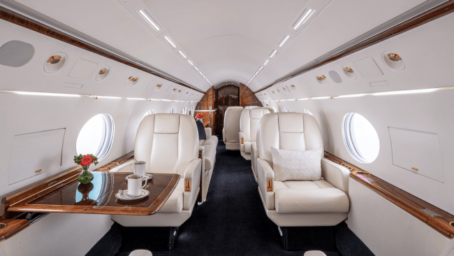 Clay Lacy private jet charter