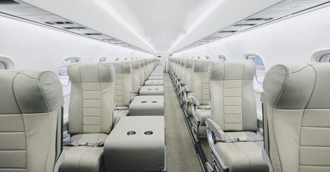 JSX cabin interior
