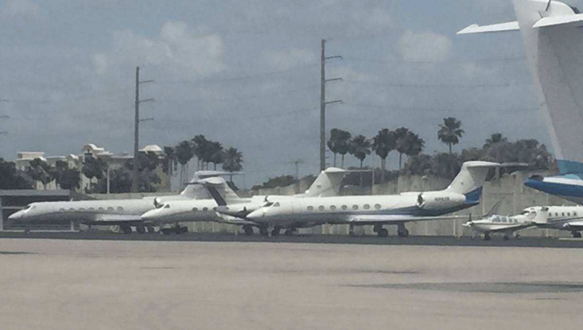 top 25 U.S. private jet airports