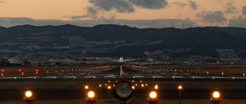 private jet flights fall in February