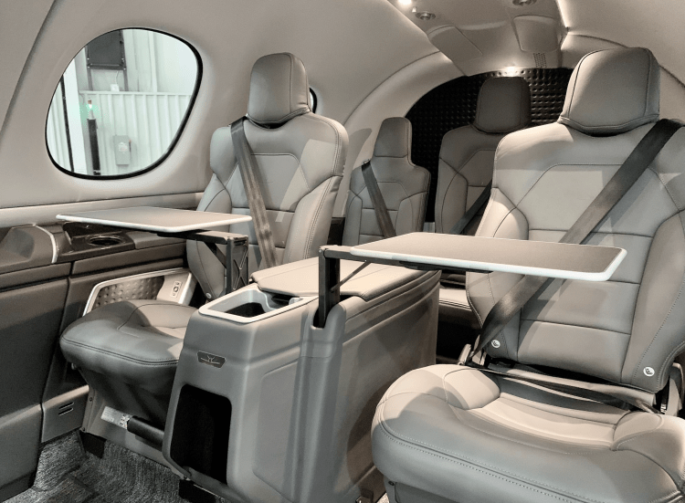 VeriJet Vision Jet cabin