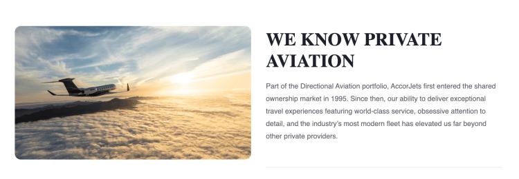 Directional Aviation Accor Jets