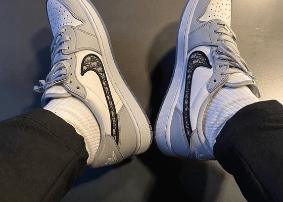 Over five million people signed up to buy Dior's Air Jordan sneakers