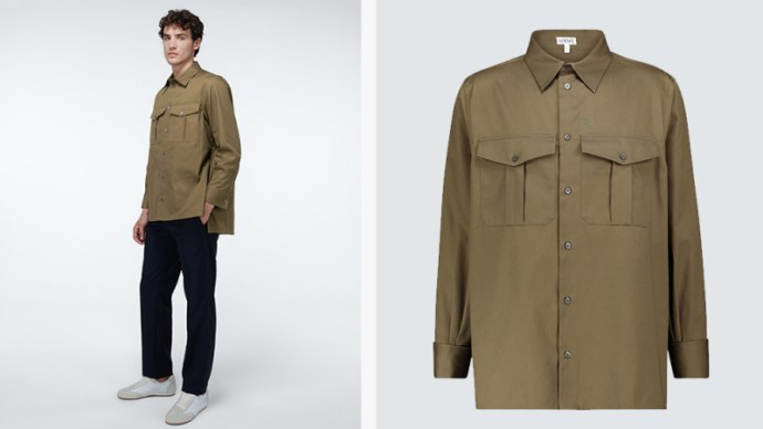 Loewe Patch Pocket Overshirt