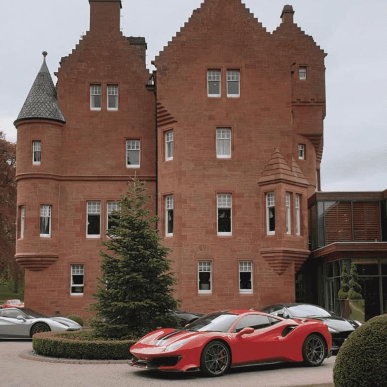 22. Fonab Castle – Scotland
