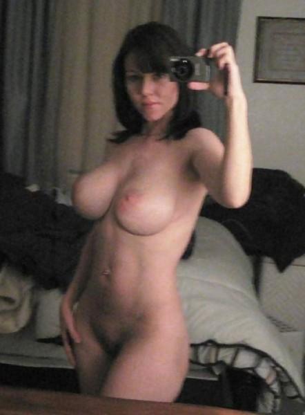 Busty Naked Milf Babe Self Shot