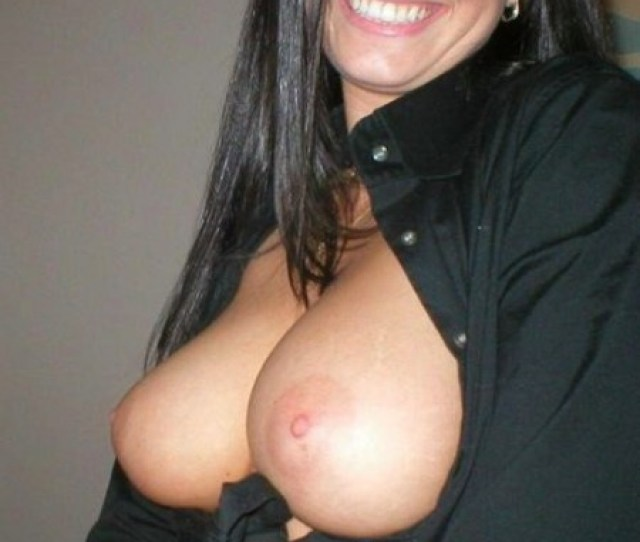 Brunette Young Milf With Perfect Tits