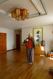 Tea room in the Meditation Hall