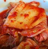 kimchi & samgyeopsal...mmm