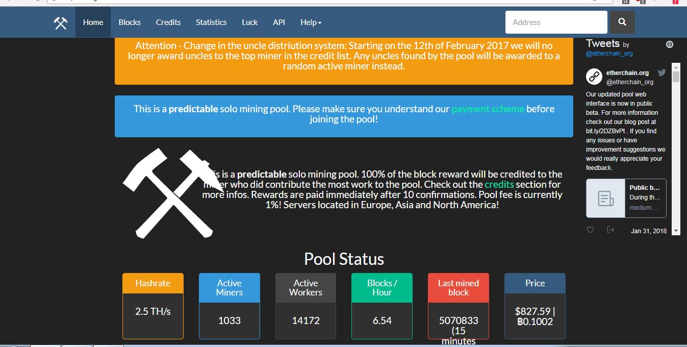confronto piscina bitcoin mineraria)