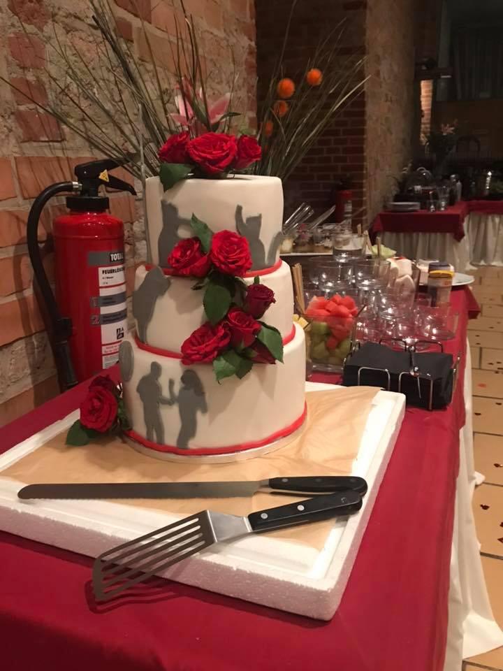 Torte beim Hochzeitscatering@Privatkoch.Berlin