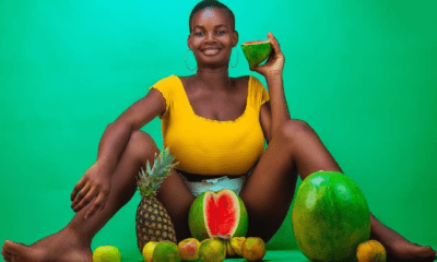 Pamela Watara, the 22-year-old Ghanaian model with the heaviest breasts.