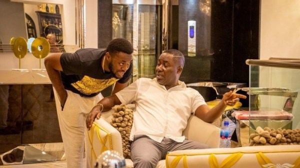 Osei Kwame Despite mansion,luxury cars, birthday,celebration,richest man in ghana,despite's mansion,mansion in accra