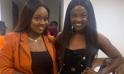 Jackie Appiah's photo with lookalike goes viral