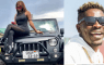 Wendy Shay Just Bought a brand new customized Jeep Wrangler -Shatta wale