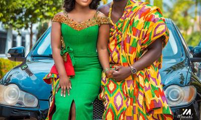 Photos: Joy Fm's Lexis Bill marries longtime girlfriend, Esther Esime Siale