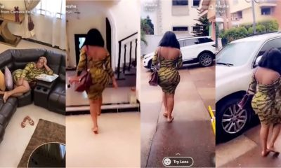 Exclusive view of Moesha Buduong's expensive mansion causing confusion online (Video)