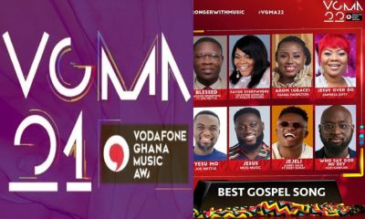 2021 vgma nominees list