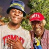 Alpha Blondy working on a new single with Stonebwoy