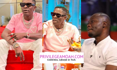 A Giant, Shatta Wale Was Humiliated And Undervalued - Privilege Amoah Writes, Arnold and Shatta's Unfortunate Encounter On UTV.