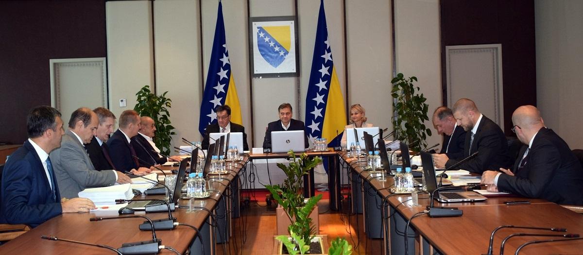 Održana 119. Sjednica Vijeća Ministara Bosne I Hercegovine
