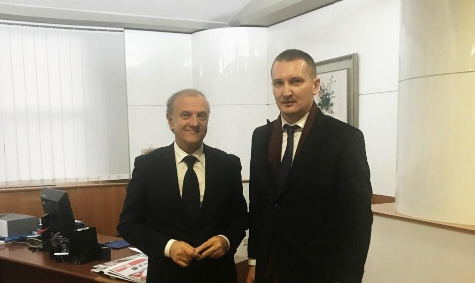 Ministar Pravde Grubeša U Zagrebu Se Susreo S Ministrom Bošnjakovićem
