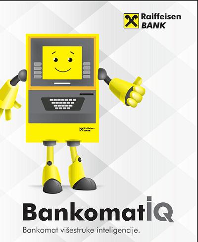 BankomatIQ: Novi Multifunkcionalni Bankomat Raiffeisen Banke