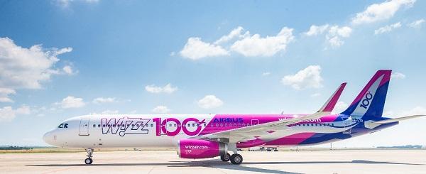 Flota Wizz Air-a Sada Broji Stotinu Aviona