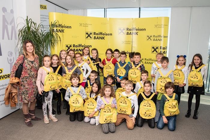 Raiffeisen Banka Donirala 33.000 KM Povodom Svjetskog Dana štednje