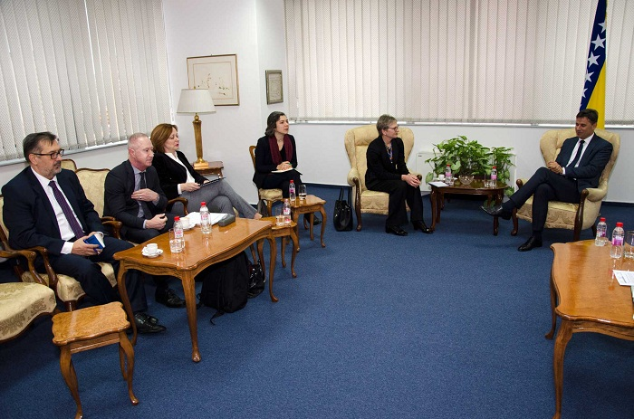 Premijer Novalić Primio Direktoricu EBRD-a Ruhe