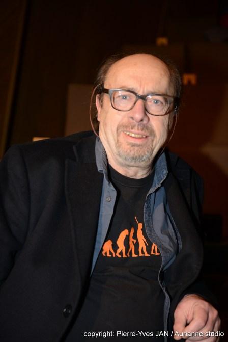 """Etienne Chicot - Présent pour la projection du film """"Un P'tit Gars de Ménilmontant"""""""