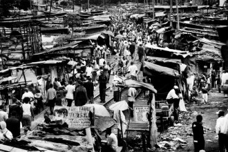 Despite its bad environment and health conditions, Kibera continued to grow rapidly during the 1970s. The slum started to boom with its population...