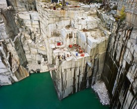 Rock of Ages # 7, Active Granite Section, Wells-Lamson Quarry, Barre, Vermont