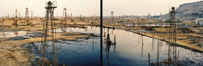SOCAR Oil Fields #1a & #1b (diptych)