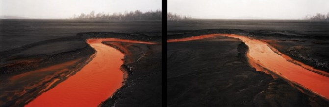 Nickel Tailings #34 & #35 (Diptych)