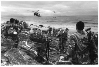 Municipio de Jurado-Choco. The Colombian army on the Pacific coast, after an attack by the FARC guerillas on an army base that killed 26 soldiers, a...