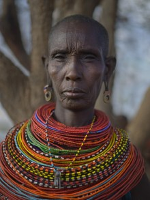 Samburu woman, Samburu Village, West Gate Community Conservancy
