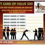 Gift Card of $30