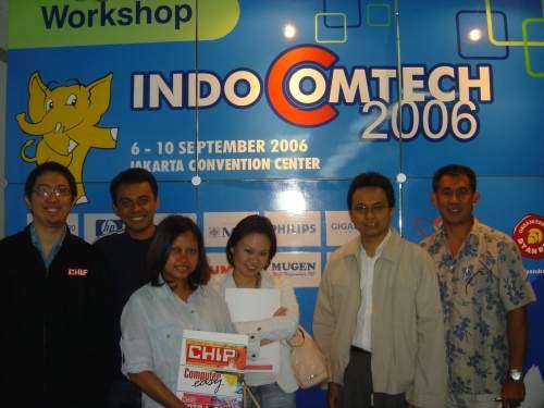 Workshop Indocomtech 2006