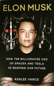 Elon Musk Biography Book Ashlee Vance
