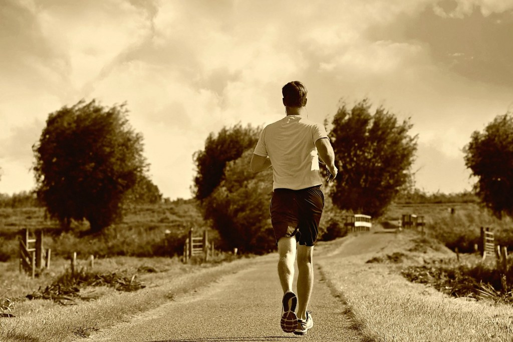 Writing a research paper is like training for a marathon