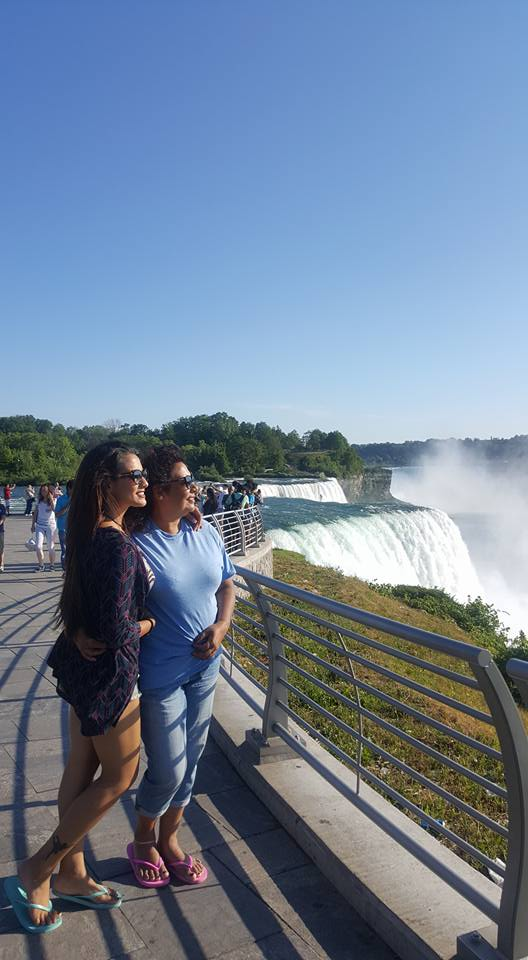 Priyanka Karki enjoying Niagara Falls 1