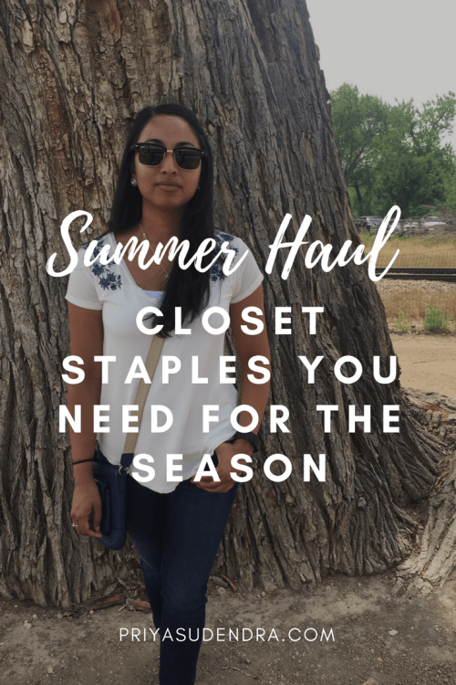 Need new summer clothes? Here's what I've been loving.