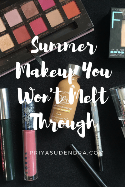 It's finally summer which means means wearing less makeup or even going makeup free. Here is my everyday summer makeup routine!
