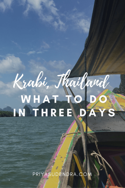 How to Spend 3 Days in Krabi, Thailand