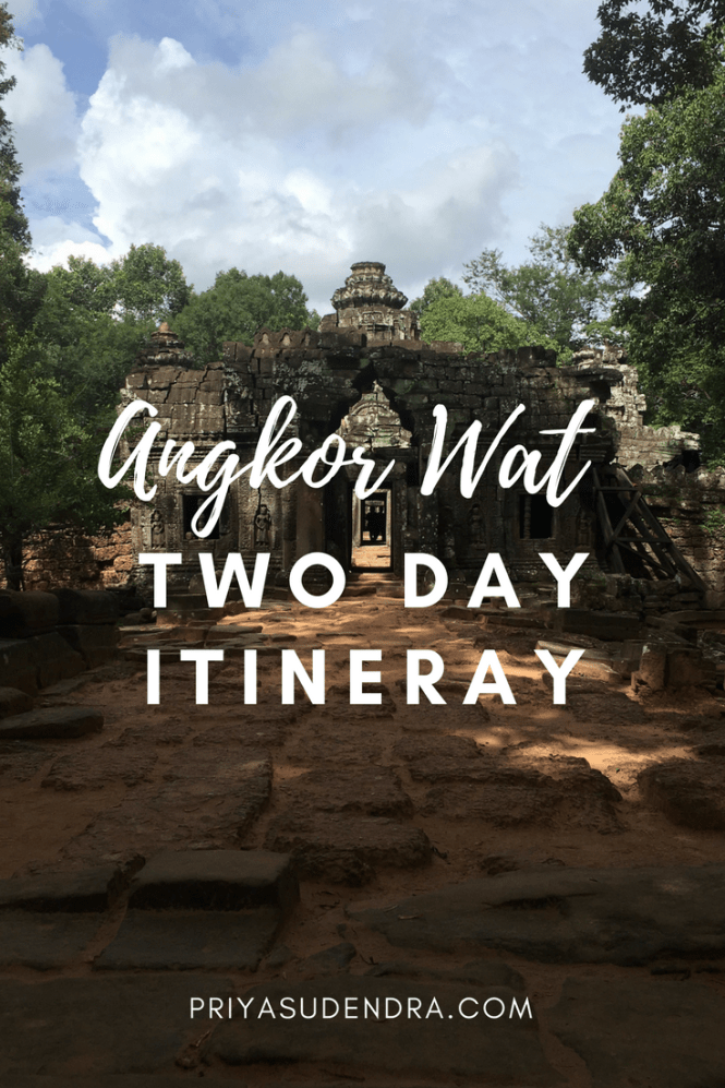Cambodian Itinerary Welcome Back To My 5 Part Southeast Asian Adventure Series Ill Be Covering The 2 And Half Days I Spent In Siem Reap