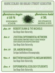 Fall 2014 MEBSA Seminar Series